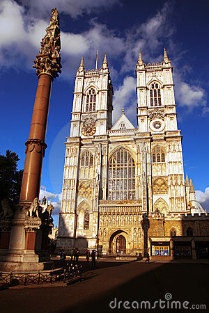 Abbey Cathedral in London, UK