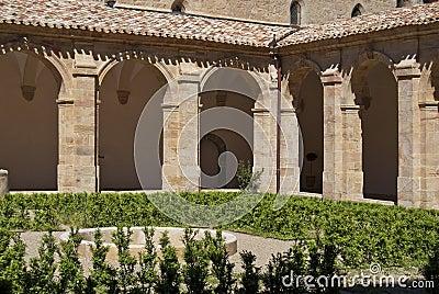 Abbey cloister
