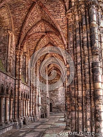 Abbey detail in Edinburgh, Scotland