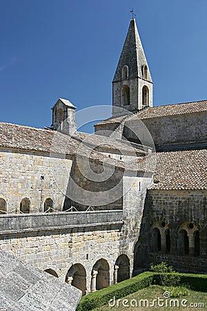 Abbey, France Stock Photo