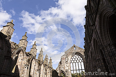 Abbey in Holyrood Palace
