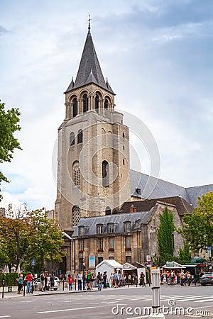 Free Abbey Of Saint-Germain-des-Pres, Paris Stock Photography - 54585522