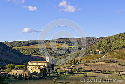 Abbey of Sant Antimo, Tuscany