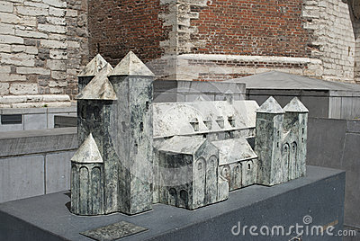 Abbey of Sint-Truiden: architectural model