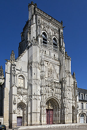 Abbey of St Riquier - The Somme - France