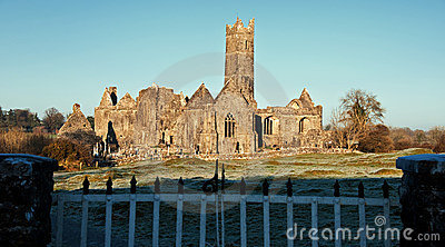 Abbey, tourist attraction, west ireland