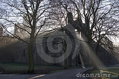 Abbeykirkstall västra leeds - yorkshire