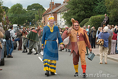 Abbots Bromley Horn Dance Editorial Photo