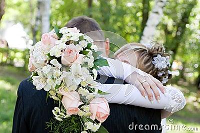 Abbraccio di amore