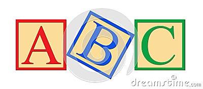 ABC Alphabet Blocks
