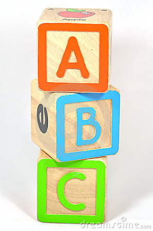ABC Blocks Stock Photo - Image: 219690