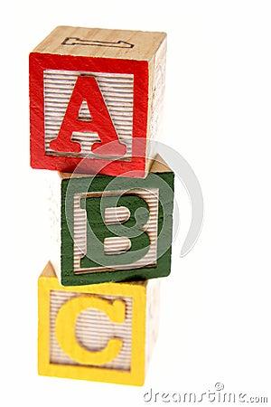 Free ABC Blocks Royalty Free Stock Photography - 6181257