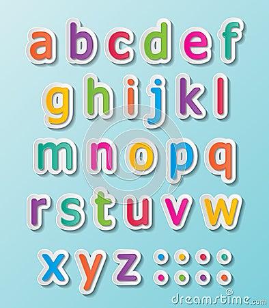 Abc font