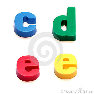 Free ABC Fridge Magnets Stock Photos - 260913