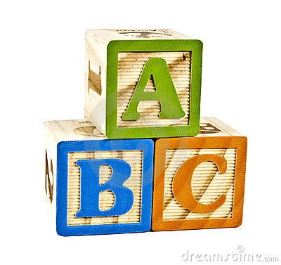 wooden block letters abc in wooden block letters royalty free stock images 1723
