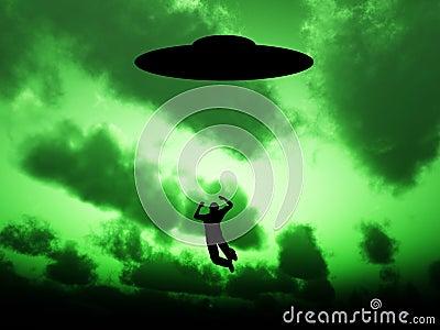 Abducción del UFO