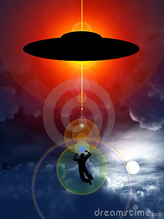 Abduction d UFO