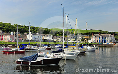 Aberareon harbour, west Wales