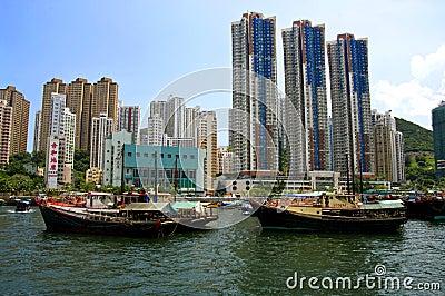 Aberdeen, Hong Kong Island Editorial Photo