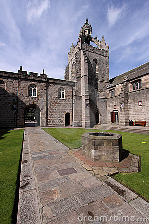 Free Aberdeen University King S College Quadrangle Stock Photography - 10736082