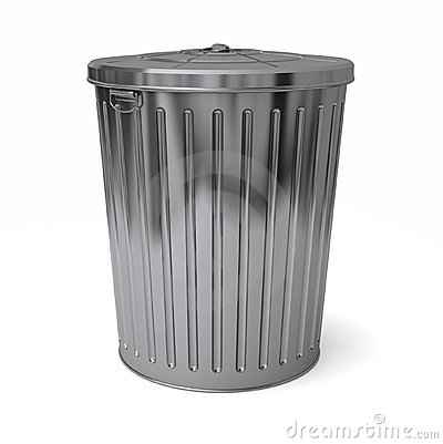 Abfalleimerkappe ein