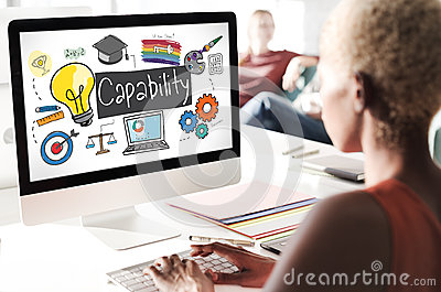 Ability Achievement Inspiration Improvement Capability Concept Stock Photo