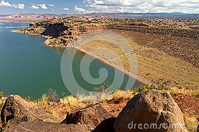 Abiquiu Lake reservoir, New Mexico