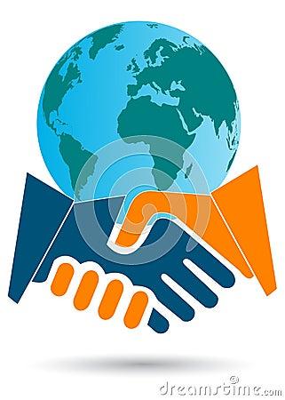 Abkommen des globalen Geschäfts
