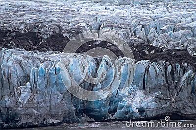 Death of a glacier at the Ice ocean