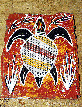 Free Aboriginal Arts From Australia Royalty Free Stock Photography - 6664047