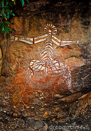 Aboriginal graffiti