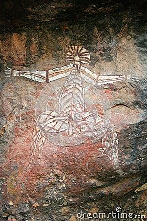 Aboriginal Rock Art - Kakadu Park, Australia