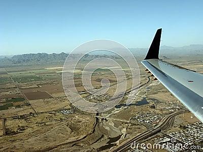 Above Greater Phoenix, AZ