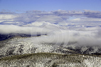 Above the snowline