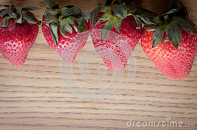 Above Strawberries