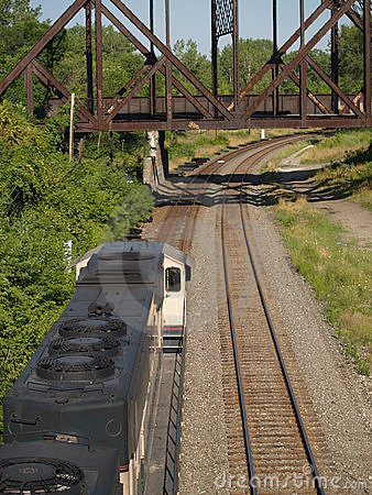Free Above The Coal Train... Royalty Free Stock Photography - 304267