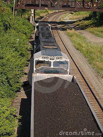 Free Above The Coal Train Stock Photo - 304270
