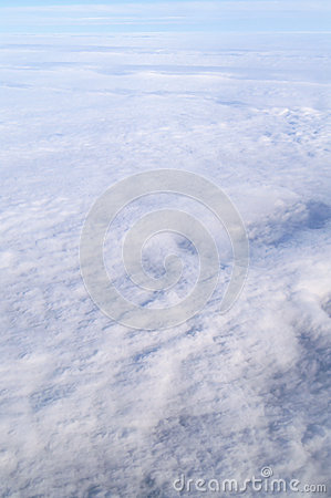 Above view of the cloud