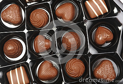 Abra a caixa dos chocolates