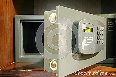 Abra la caja fuerte