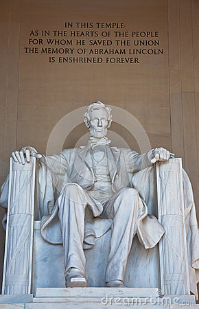 Free Abraham Lincoln Memorial Royalty Free Stock Photography - 27154437