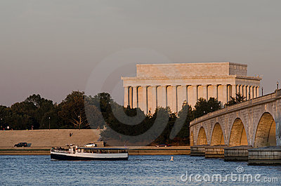 Abraham Lincoln Memorial, Washington DC USA
