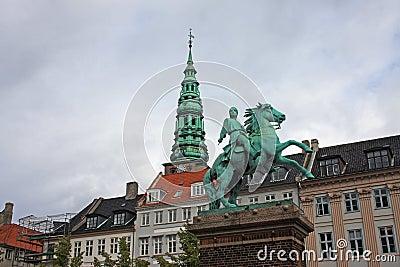 Absalon statue, Copenhagen