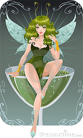 Free Absinth Fairy Royalty Free Stock Photography - 4693577