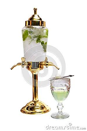 Absinthe liqueur