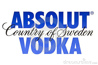 ABSOLUT VODKA Editorial Photo