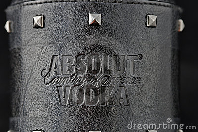 Absolut Vodka Rock Edition Editorial Photography