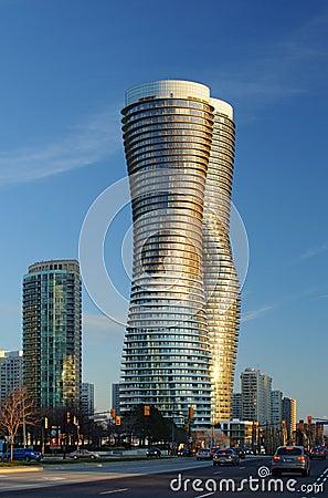 Absolute Condominiums, Mississauga Editorial Image