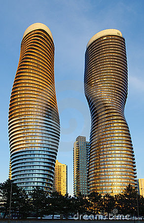 Absolute Condominiums, Mississauga Editorial Stock Photo