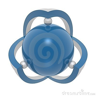 Absract 3d symbol